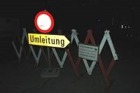 Bild Nächtliches Fahrverbot aufgrund Amphibenwanderung