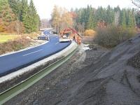 Bild Errichtung der neuen Tunnel-Leit-Anlage am Eiblhofmoor