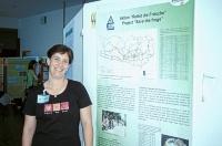 Bild Mag. Karina Smole-Wiener bei der herpetologischen Tagung in Žalec/Slowenien